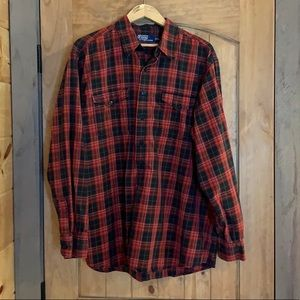 Rare Vintage Polo plaid Woodsman Workshirt XL